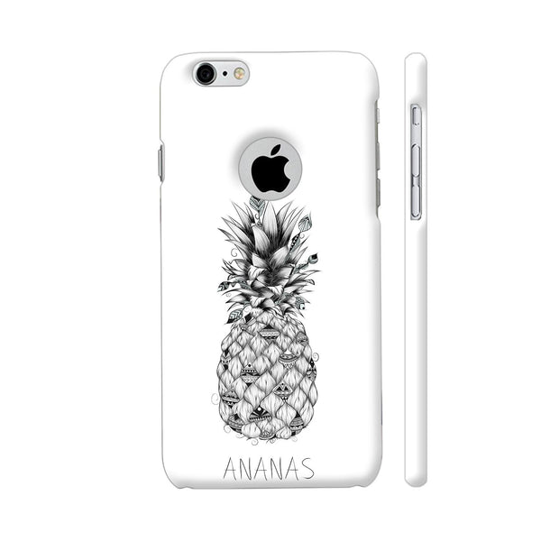 Ananas iPhone 6 / 6s Logo Cut Cover | Artist: LouJah
