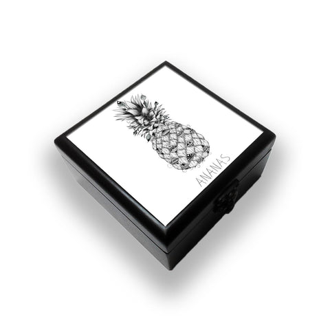 Ananas Jewellery Box