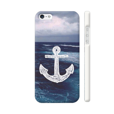 Anchor On Sea iPhone SE Cover | Artist: Aadhi