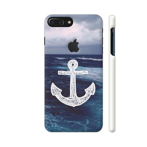 Anchor On Sea iPhone 7 Plus Logo Cut Cover | Artist: Aadhi