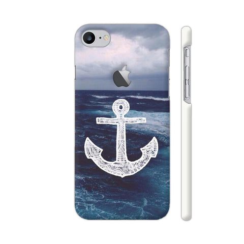 Anchor On Sea iPhone 7 Logo Cut Cover | Artist: Aadhi