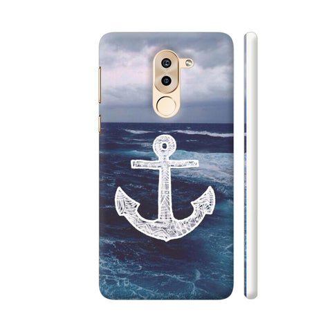 Anchor On Sea Huawei Honor 6X Cover | Artist: Aadhi