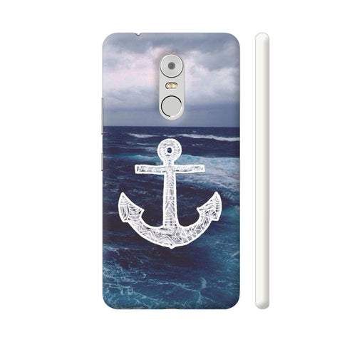 Anchor On Sea Lenovo K6 Note Cover | Artist: Aadhi