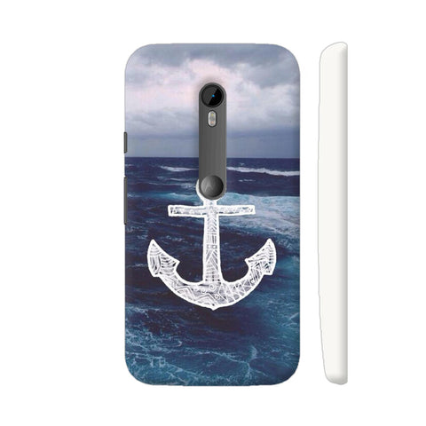 Anchor On Sea Moto G Turbo Cover | Artist: Aadhi