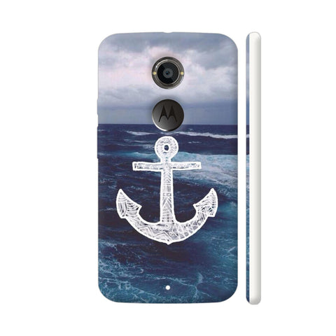 Anchor On Sea Moto X2 Cover | Artist: Aadhi