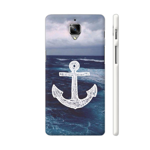 Anchor On Sea OnePlus 3 Cover | Artist: Aadhi