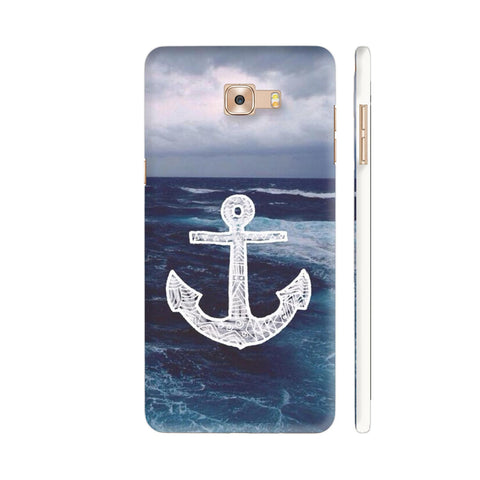 Anchor On Sea Samsung Galaxy C9 Pro Cover | Artist: Aadhi