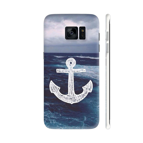 Anchor On Sea Samsung Galaxy S7 Edge Cover | Artist: Aadhi