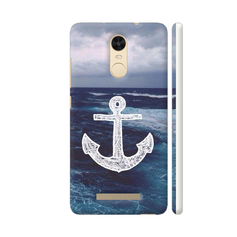 Anchor On Sea Redmi Note 3 Cover | Artist: Aadhi