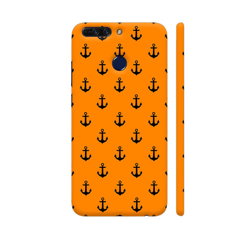 Anchors On Orange Honor 8 Pro Cover | Artist: VSeraphim