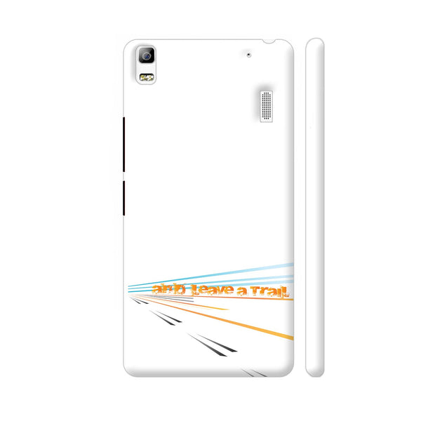 And Leave A Trail Lenovo K3 Note Cover | Artist: Urvashi