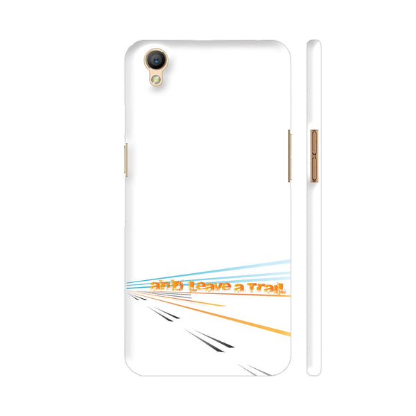 And Leave A Trail Oppo A37 Cover | Artist: Urvashi