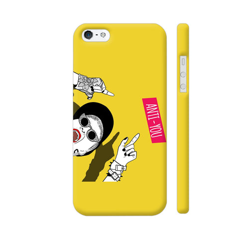 Anti You Girl iPhone SE Cover | Artist: Disha