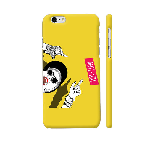 Anti You Girl iPhone 6 Plus / 6s Plus Cover | Artist: Disha