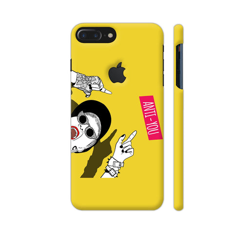 Anti You Girl iPhone 7 Plus Logo Cut Cover | Artist: Disha