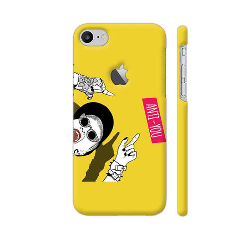 Anti You Girl iPhone 7 Logo Cut Cover | Artist: Disha