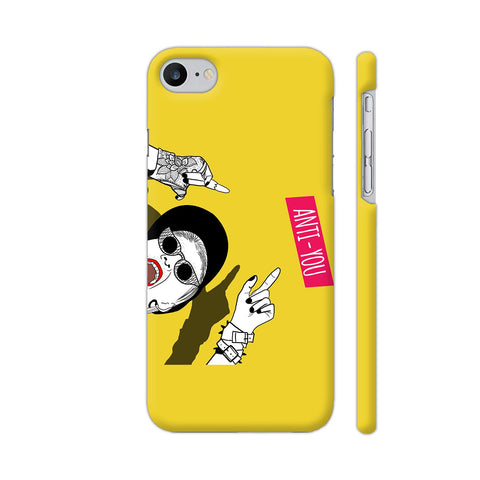 Anti You Girl iPhone 7 Cover | Artist: Disha