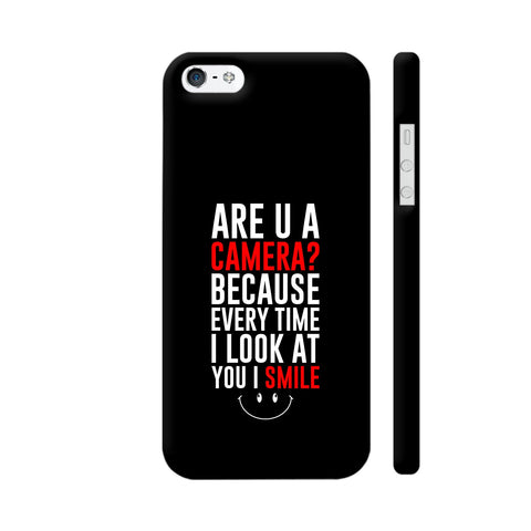 Are You A Camera iPhone 5 / 5s Cover | Artist: Designer Chennai