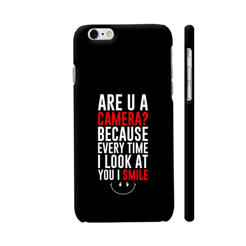 Are You A Camera iPhone 6 Plus / 6s Plus Cover | Artist: Designer Chennai