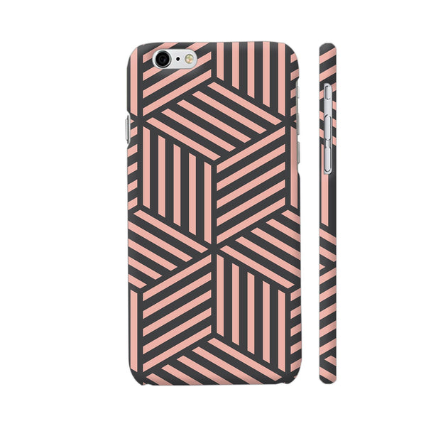 Ash And Pink Stripes iPhone 6 Plus / 6s Plus Cover | Artist: Adeela Abdul Razak