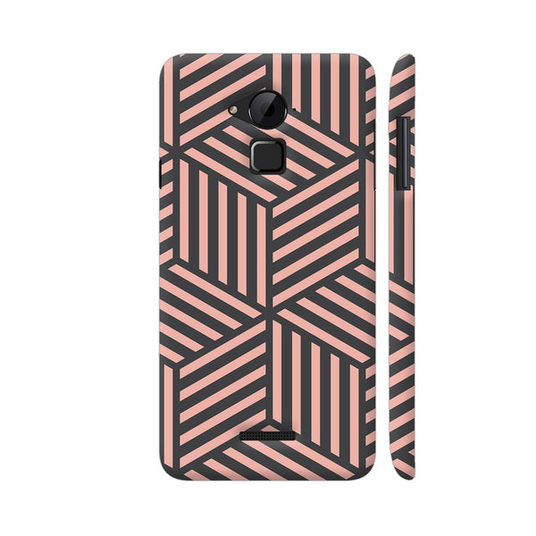 Ash And Pink Stripes Coolpad Note 3 / Note 3 Plus Case