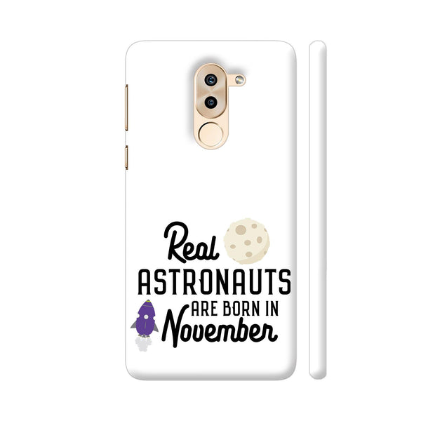 Astronauts Are Born In November 2 Huawei Honor 6X Cover | Artist: Torben