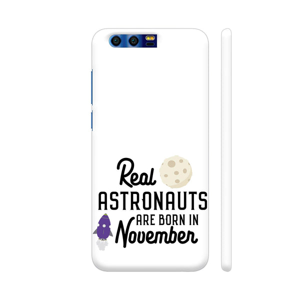 Astronauts Are Born In November 2 Huawei Honor 9 Cover | Artist: Torben
