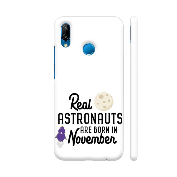 Astronauts Are Born In November 2 Huawei P20 Lite Cover | Artist: Torben