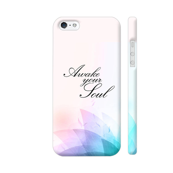 Awake Your Soul iPhone SE Cover | Artist: Neeja Shah