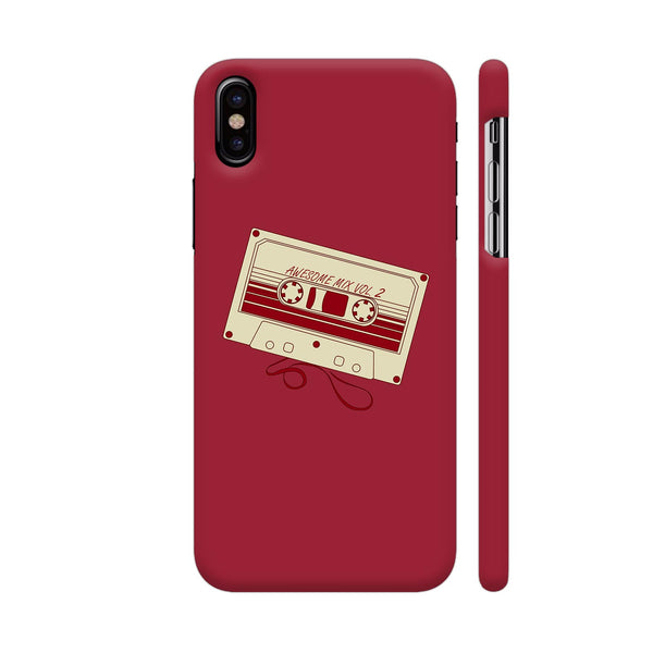 Awesome Mix Tape iPhone X Cover | Artist: Photokidkiran