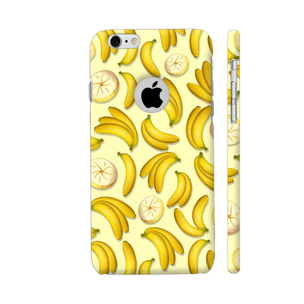 Banana Fruity Pattern iPhone 6 / 6s Logo Cut Cover | Artist: BluedarkArt