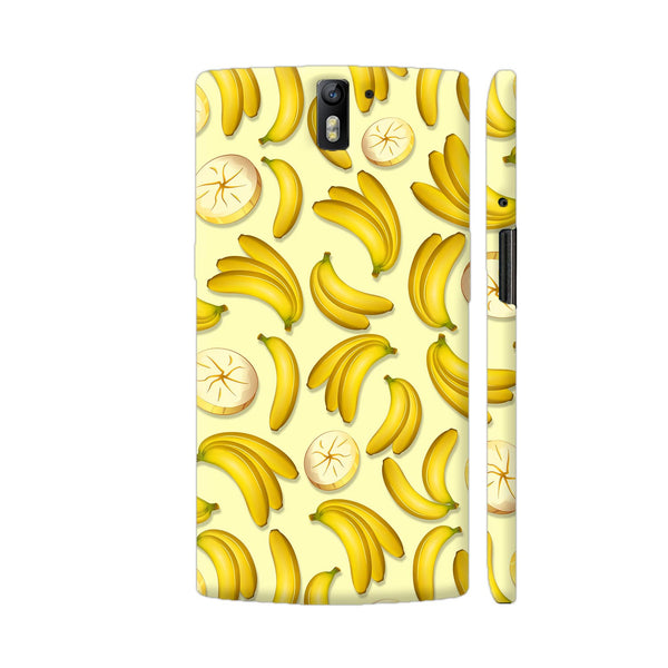 Banana Fruity Pattern OnePlus One Cover | Artist: BluedarkArt