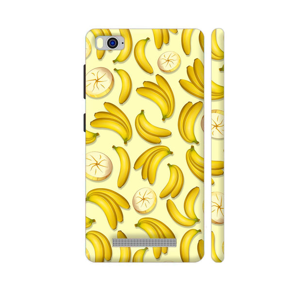Banana Fruity Pattern Xiaomi Mi 4i Cover | Artist: BluedarkArt