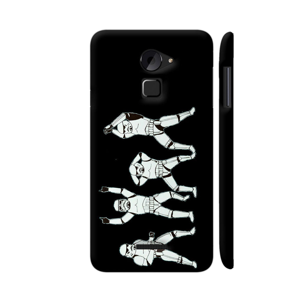Baraati Troopers On Black Coolpad Note 3 Lite Cover | Artist: High And Above