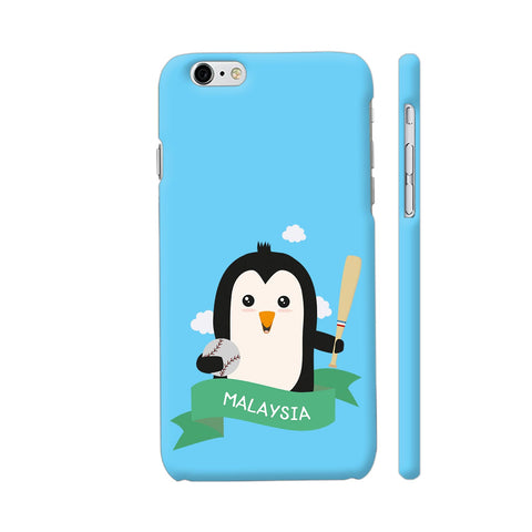 Baseball Penguin From Malaysia iPhone 6 Plus / 6s Plus Cover | Artist: Torben