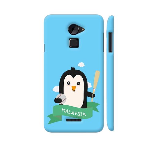 Baseball Penguin From Malaysia Coolpad Note 3 Lite Cover | Artist: Torben