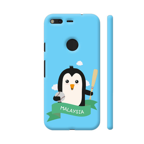 Baseball Penguin From Malaysia Google Pixel Cover | Artist: Torben