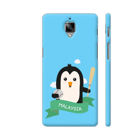 Baseball Penguin From Malaysia OnePlus 3 Cover | Artist: Torben