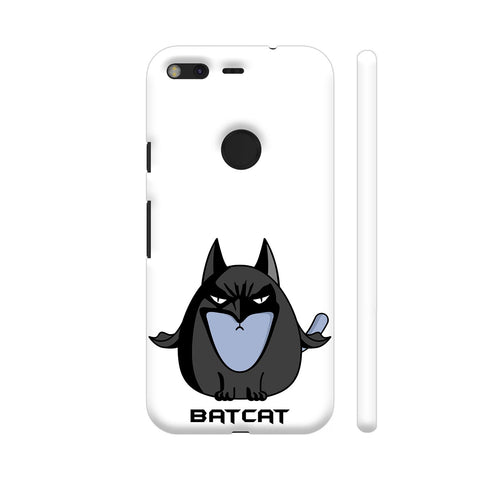 Batcat Batman The Cat Google Pixel Cover | Artist: Giordano Aita