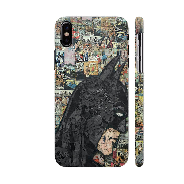 Batman Collage iPhone XS Cover | Artist: Prince Vegeta