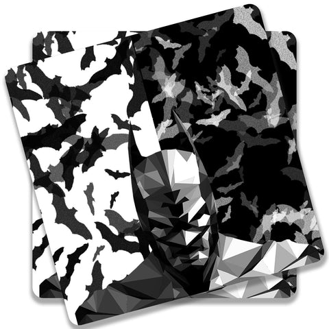 Batman Low Poly Design Coaster (Set of 2)