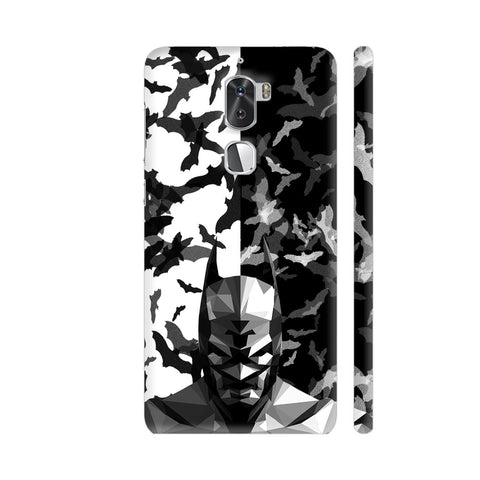 Batman Low Poly Design Coolpad Cool 1 / Cool1 Dual Cover | Artist: Captain Gooner
