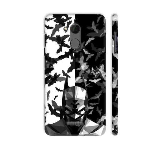 Batman Low Poly Design Coolpad Note 5 Cover | Artist: Captain Gooner