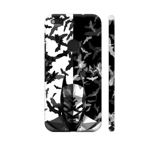 Batman Low Poly Design Google Pixel Cover | Artist: Captain Gooner