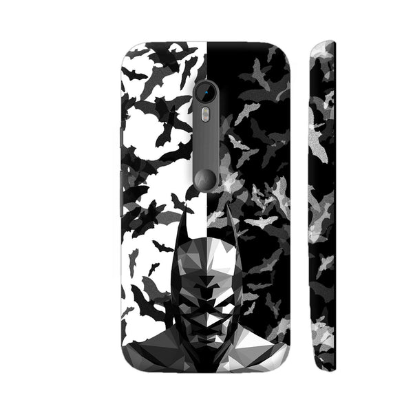 Batman Low Poly Design Moto G Turbo Cover | Artist: Captain Gooner