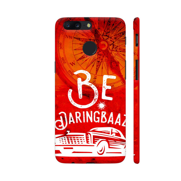 Be Daringbaaz The Chambal On Orange 2 OnePlus 5T Cover | Artist: Robin Singh