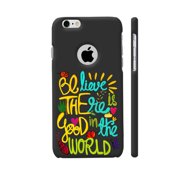 Be The Good iPhone 6 / 6s Logo Cut Cover | Artist: Woodle Doodle