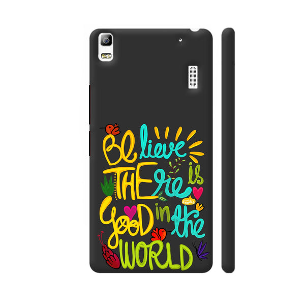 Be The Good Lenovo K3 Note Cover | Artist: Woodle Doodle