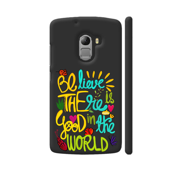 Be The Good Lenovo K4 Note Cover | Artist: Woodle Doodle