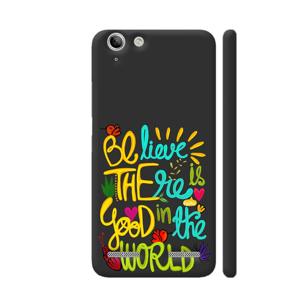 Be The Good Lenovo Vibe K5 / K5 Plus Cover | Artist: Woodle Doodle